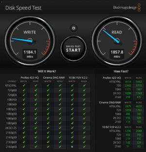 macbook15 disk speed